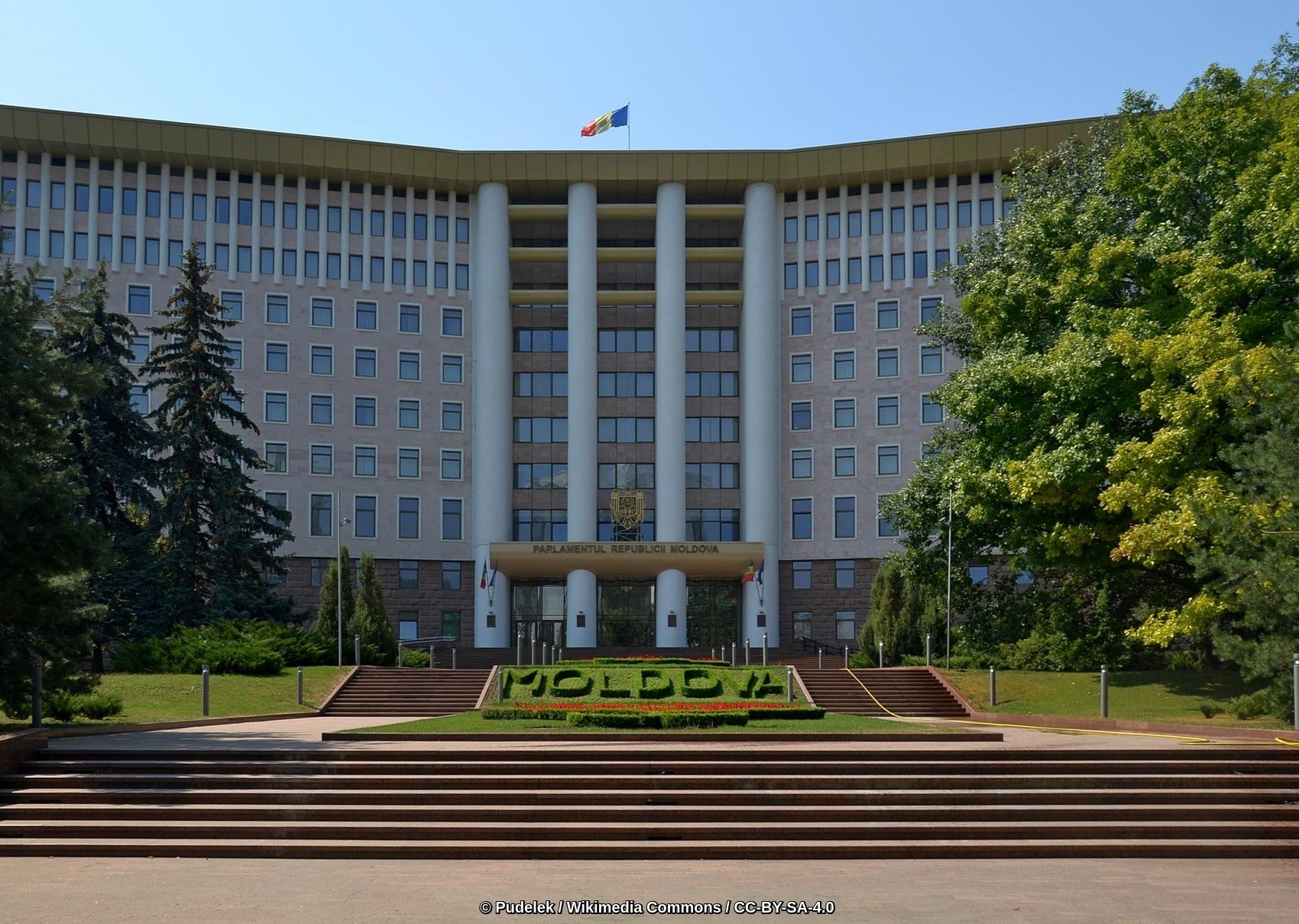 Parliament Building, Chișinău, Moldova